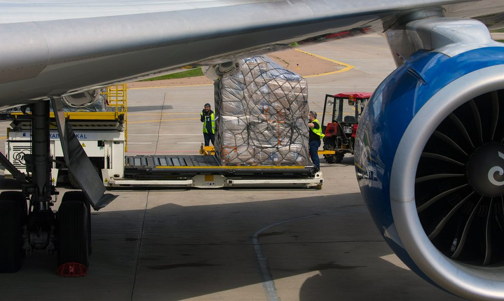 CargoLogicAir On Its First Flight With Urgent Delivery Of PPE And Medical Equipment To The UK