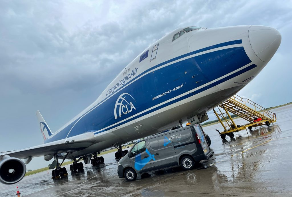 Aeropeople supports CLA line maintenance at EMA